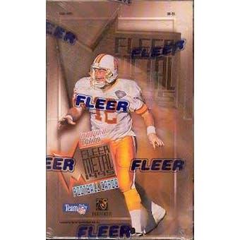 1995 Fleer Metal Football Hobby Box