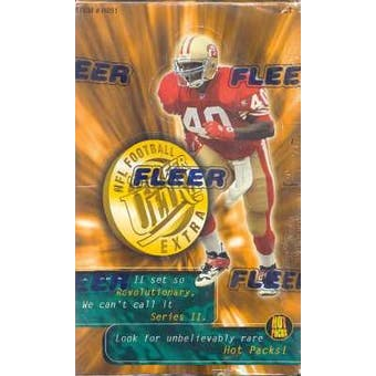 1995 Fleer Ultra Series 2 Football Jumbo Box