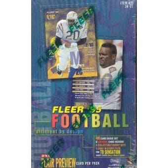 1995 Fleer Football Hobby Box
