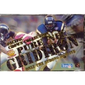1995 Pacific Gridiron Football Hobby Box
