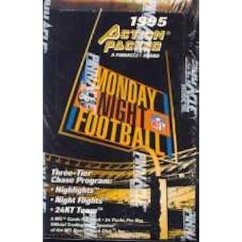 1995 Action Packed Monday Night Football Hobby Box