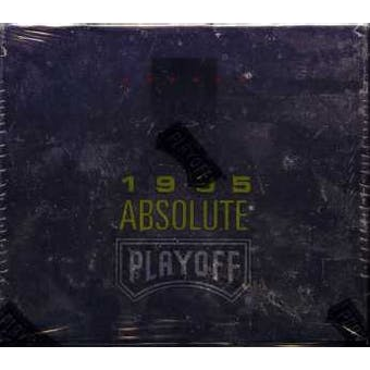 1995 Playoff Absolute Football Hobby Box