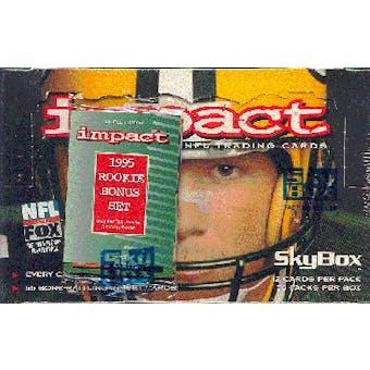 1995 Skybox Impact Football Hobby Box