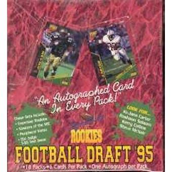 1995 Signature Rookies Football Hobby Box