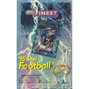 1995 Topps Finest Series 1 Football Hobby Box