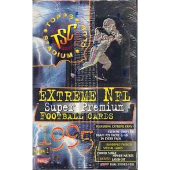 1995 Topps Stadium Club Series 1 Football Hobby Box (Reed Buy)