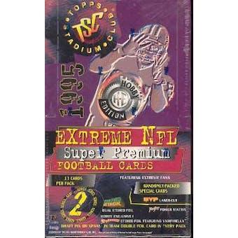 1995 Topps Stadium Club Series 2 Football Hobby Box