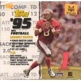 1995 Topps Series 1 Football Jumbo Box