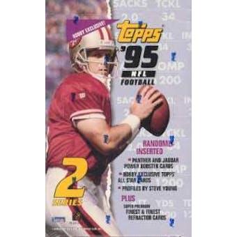 1995 Topps Series 2 Football Hobby Box
