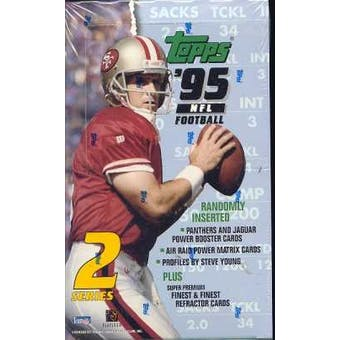1995 Topps Series 2 Football Jumbo Box