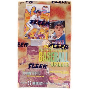 1995 Fleer Update Baseball Hobby Box