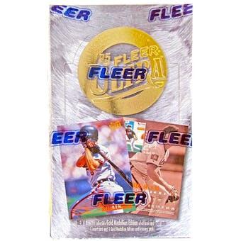 1995 Fleer Ultra Series 2 Baseball Hobby Box