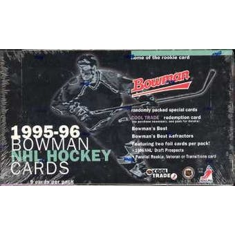 1995/96 Bowman Hockey Hobby Box