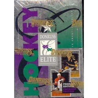 1995/96 Donruss Elite Hockey Hobby Box