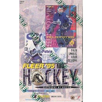 1995/96 Fleer Hockey Hobby Box