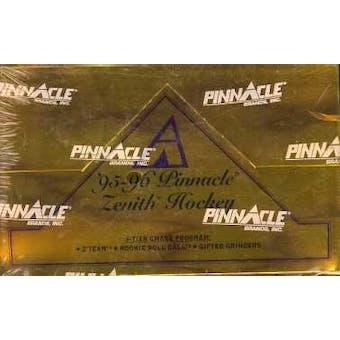 1995/96 Pinnacle Zenith Hockey Hobby Box