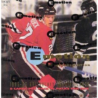 1995/96 Skybox Emotion Hockey Hobby Box