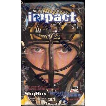 1995/96 Skybox Impact Hockey Hobby Box