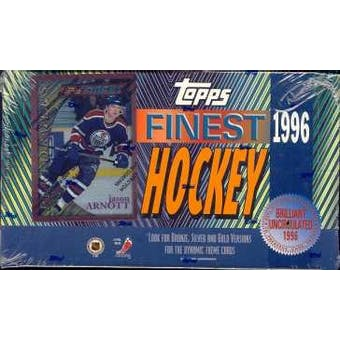 1995/96 Topps Finest Hockey Hobby Box