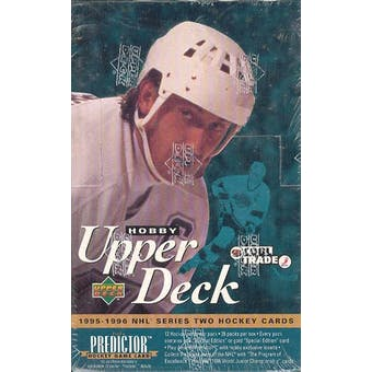 1995/96 Upper Deck Series 2 Hockey Hobby Box