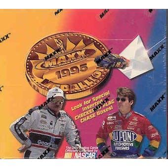 1995 J.R. Maxx Inc. Maxx Medallion Racing Hobby Box
