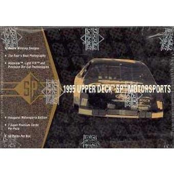 1995 Upper Deck SP Motorsports Racing Hobby Box