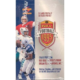 1995 Score Football 36 Pack Box