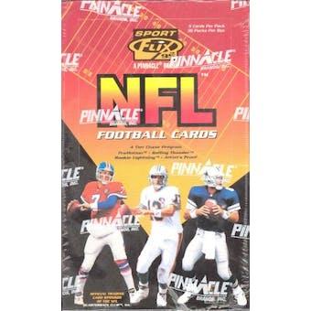 1995 Pinnacle Sportflics Football Hobby Box