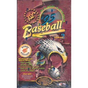 1995 Topps Stadium Club Series 2 Baseball Hobby Box