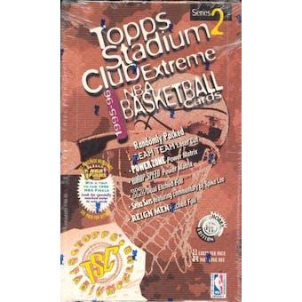 1995/96 Topps Stadium Club Series 2 Basketball Hobby Box