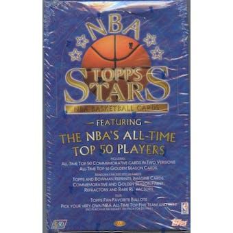 1996/97 Topps Stars Basketball Hobby Box