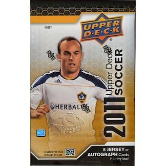 2011 Upper Deck Soccer Hobby Box
