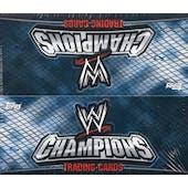 2011 Topps WWE Champions Wrestling Box