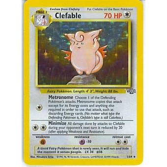 Pokemon Jungle Single Clefable 1/64
