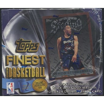 1996/97 Topps Finest Series 2 Basketball 20-Pack Box