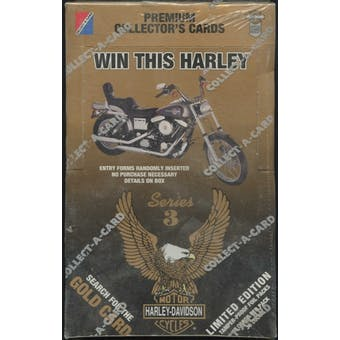 Harley Davidson Series 3 Hobby Box (1993 Collect-A-Card)