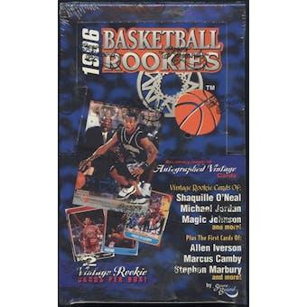 1996 Scoreboard Rookies Basketball Hobby Box