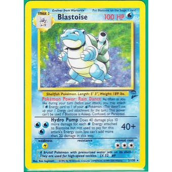 Pokemon Base Set 2 Single Blastoise 2/130 - LIGHT PLAY