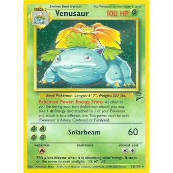 Pokemon Base Set 2 Single Venusaur 18/130
