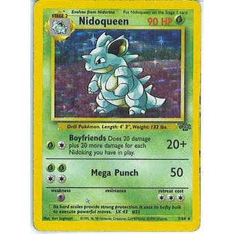 Pokemon Jungle Single Nidoqueen 7/64 - NEAR MINT (NM)