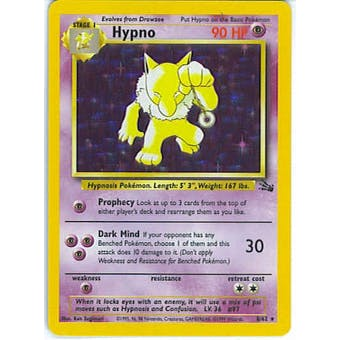 Pokemon Fossil Single Hypno 8/62