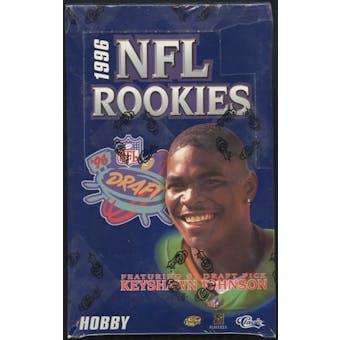 1996 Classic NFL Rookies Football Hobby Box