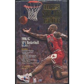 1996/97 Topps Stadium Club Series 2 Basketball 32-Pack Box