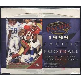 1999 Pacific Football 20-Pack Box