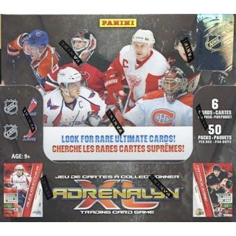 2010/11 Panini Adrenalyn XL Hockey Booster Box