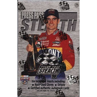 1998 Press Pass Stealth Racing Hobby Box