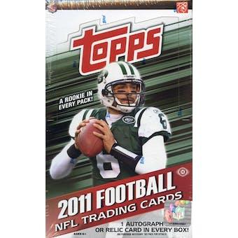 2011 Topps Football Hobby Box