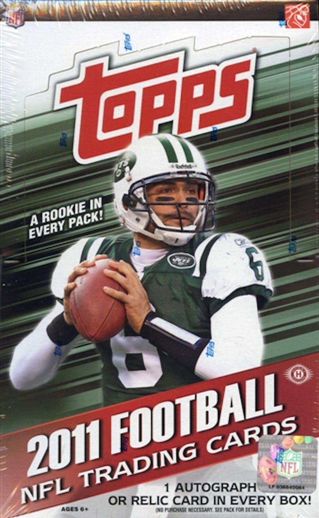 2011 Topps Football Hobby Box Da Card World