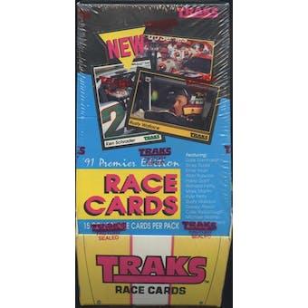 1991 Traks Racing Hobby Box