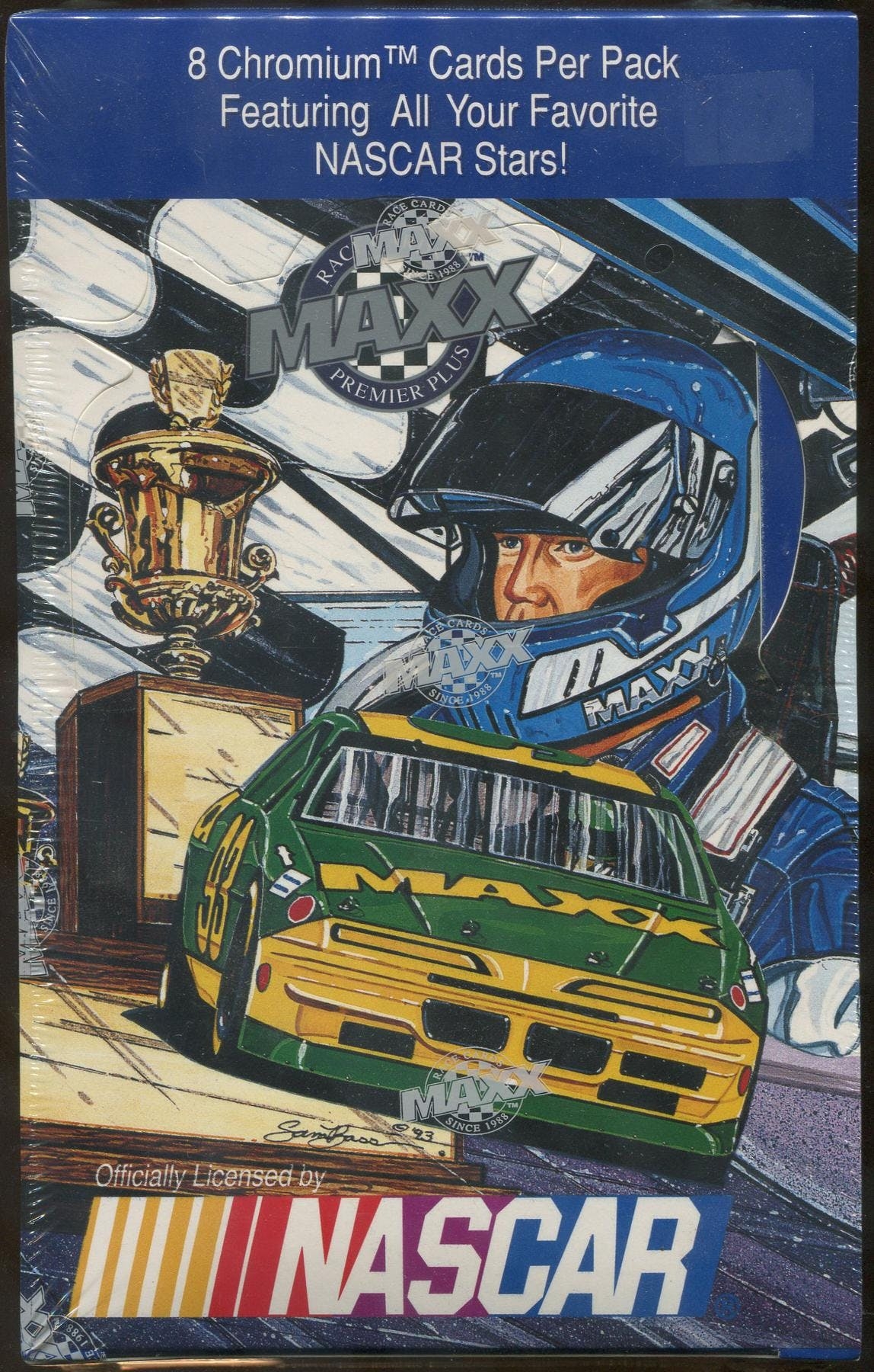 1993 J.R. Maxx Inc. Maxx Premier Plus Racing Hobby Box | DA Card World